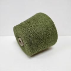 Bourette, Шёлк 100%, Зеленый, буретный, 1/8, 800 м в 100 г