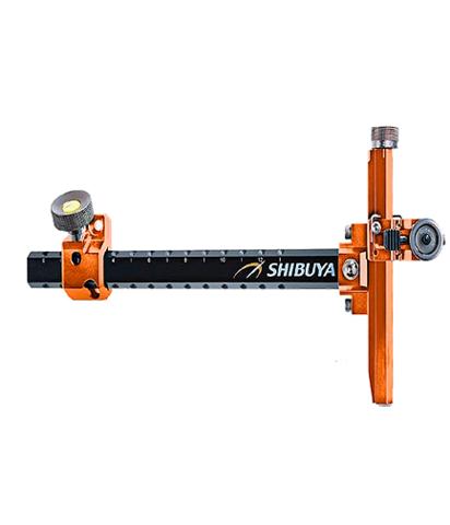 Прицел для лука спортивного Shibuya Sight 485-9 Ultima II RC Recurve Carbon Orange