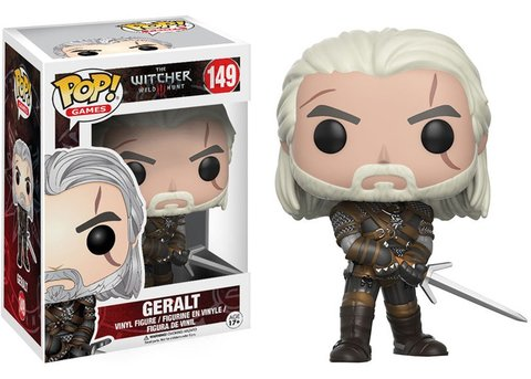 Фигурка Funko POP! Vinyl: Games: Witcher: Geralt 12134