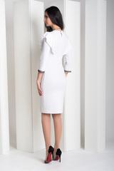 Нинель. Шикарное вечернее платье. Белый