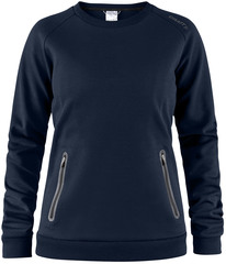 Толстовка Emotion Crew Sweatshirt Dark Navy женская