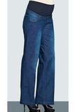 Джинсы для беременных (BOOT CUT) 02683 синий