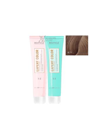 Expert Color Hair Color Cream 8/71 светло-русый коричнево-пепельный 100 мл