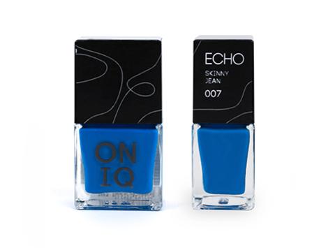 ONIQ  Лак для стемпинга. Echo:  Skinny Jean 007