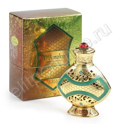 Пробник для духов Al Amakin Аль Амакин 1 мл арабские масляные духи от Набиль Nabeel Perfumes