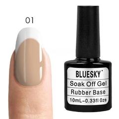Bluesky, Rubber Base Cover Pink - каучуковая камуфлирующая база № 01, 10 мл