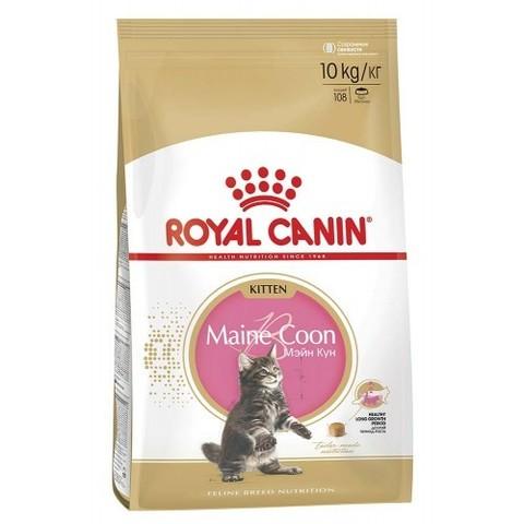 Royal Canin Maine Coon Kitten для котят породы мейн-кун 10 кг