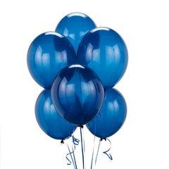 Шар синий гелиевый