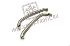Ручка двери холодильника Bosch (серебристая) 315 мм (369551)