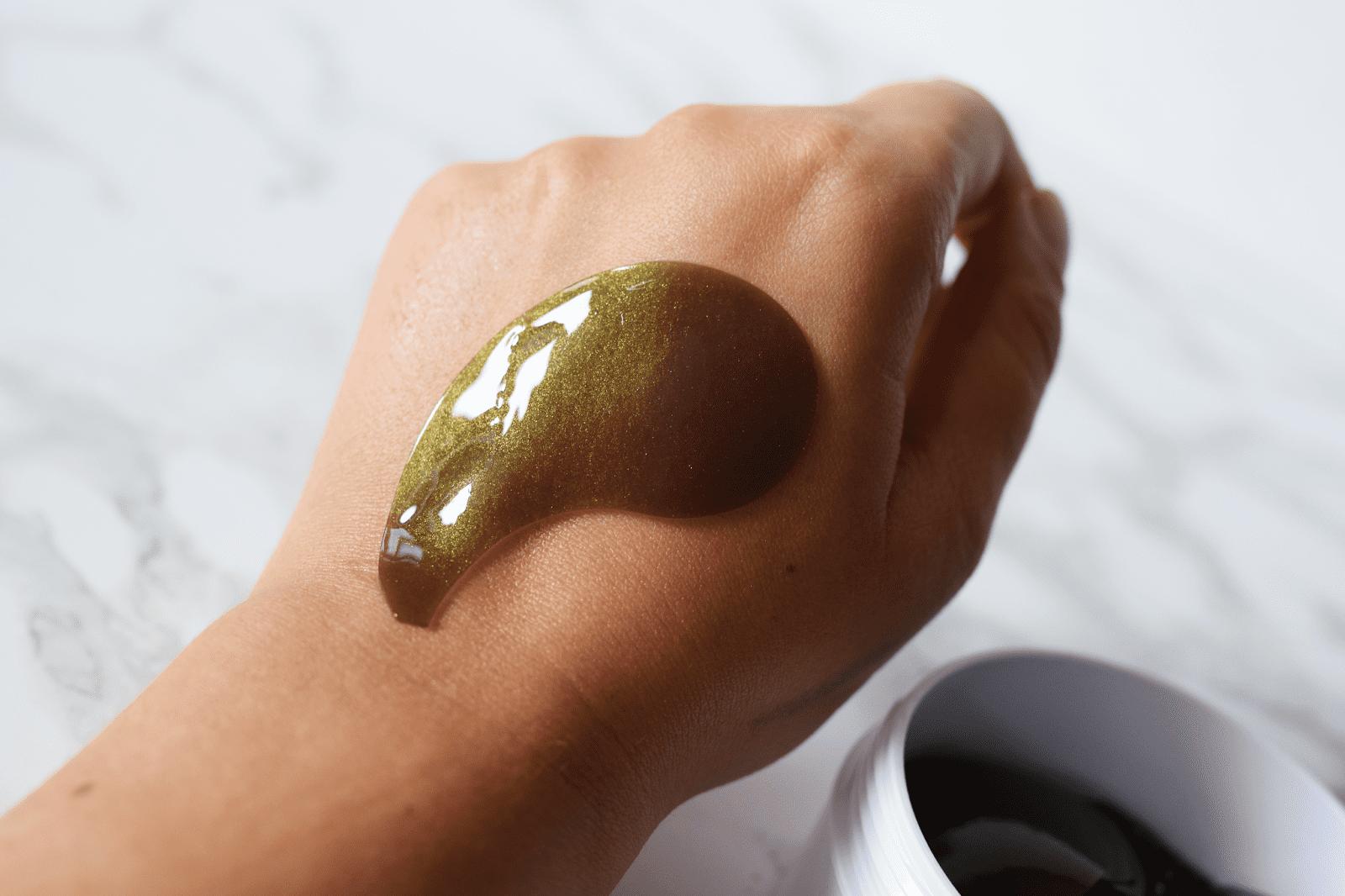 Гидрогелевые патчи - FarmStay Black Pearl & Gold Hydrogel Eye Patch