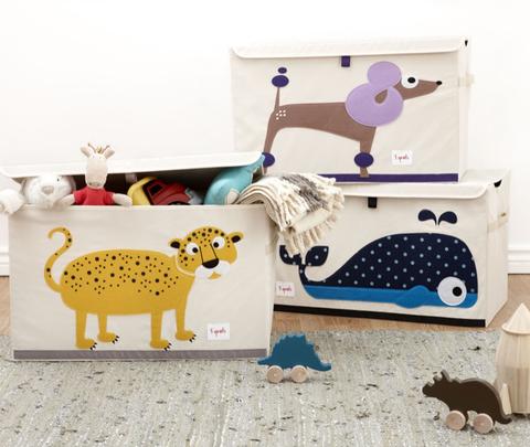 Сундук для хранения игрушек 3 Sprouts Слон (серый)