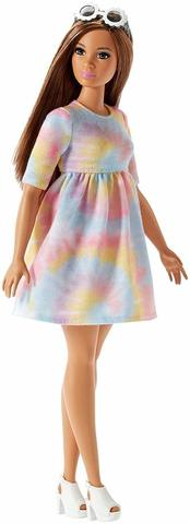 Кукла Барби Модница Переплетение красок