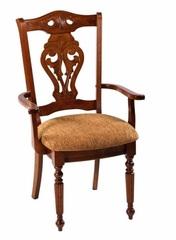 Кресло 5719 A (MK-1503-CP) Темный орех