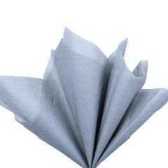 Бумага тишью светло-серая 76 х 50 см, 10 листов 28 г/м