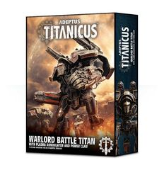 Adeptus Titanicus Warlord Battle Titan With Plasma Annihilator and Power Claw
