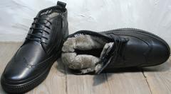 Купить мужские зимние ботинки Rifellini Rovigo C8208 Black