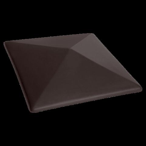 Колпак для столбов забора King Klinker, Вулканический черный (18) Volcanic black, 400x400x90
