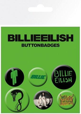 Набор значков BILLIE EILISH Mix (Bravado)