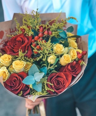 Flower delivery in Tbilisi. Online flower shop