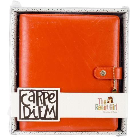 Планер-ежедневник без наполнения. Формат A5. Carpe Diem A5 Planner Reset Girl - Persimmon