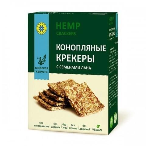 Крекер конопляный с морской капустой, 150 гр. (Компас Здоровья)