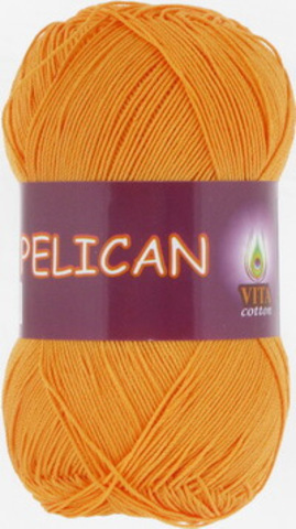 Пряжа Pelican (Vita cotton) 4007 Желток