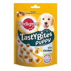 Pedigree Tasty Bites puppy кусочки со вкусом курицы для щенков 130гр