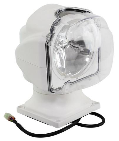 Прожектор ксеноновый, с проводным пультом ДУ, белый (серия 971)