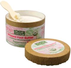 """Взбитое масло-крем для ног """"Мята перечная"""", Organic Essence"""