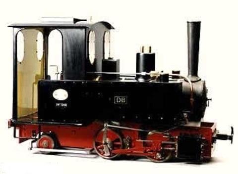 Garden Rail Паровоз Arthur на колею 12,7 см и 17,8 см, угольный