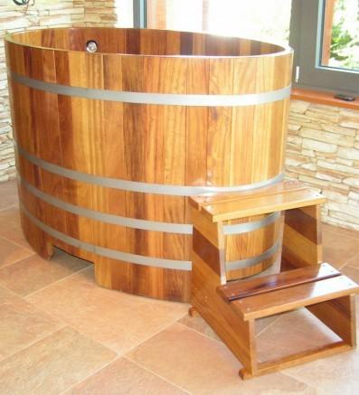 Купель для сауны и бани от Blumenberg 130 x 79, фото 2