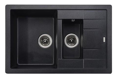 Кухонная гранитная мойка Kaiser KG2M-7850 (4 цвета)