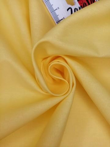 Ранфорс  гладкокрашеный Желтый карандаш