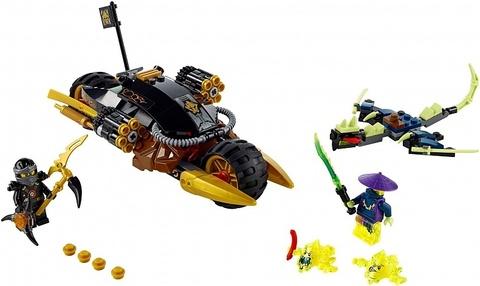 LEGO Ninjago: Бластер-байк Коула 70733 — Blaster Bike — Лего Ниндзяго