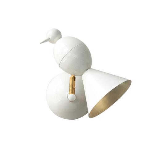 Настенный светильник копия Alouette by Atelier Areti (белый)