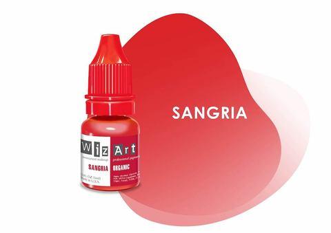 Sangria (сангрия) • Wizart Organic • пигмент для губ