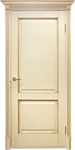 Дверь Дверной Лидер Катрин (молочный, глухая, массив хвойных пород)