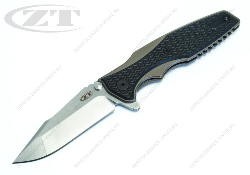 Нож Zero Tolerance 0393BRZ Rick Hinderer