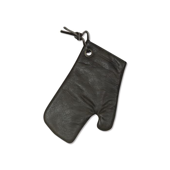 Варежка-прихватка, кожа, Серый винтаж, арт. 552267 - фото 1