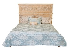 """Кровать """"Каталина (Catalan) 200x160 (MK-3292-CE)"""" —  Античный бежевый"""