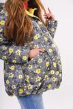 Куртка для беременных 08295 серый