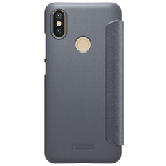 Чехол книжка Nillkin для Xiaomi Mi A2 Серый