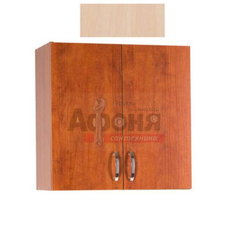Шкаф для посуды 80 цвет дуб млечный (с сушкой) (ЛДСП)