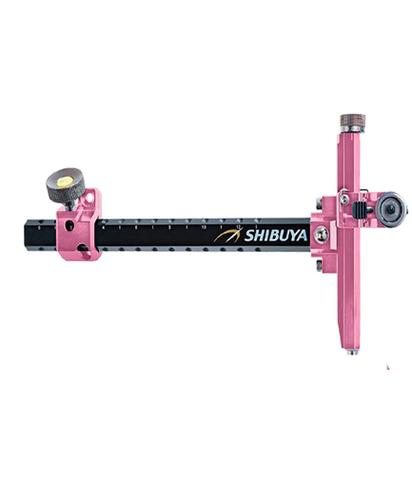 Прицел для лука спортивного Shibuya Sight 485-9 Ultima II RC Recurve Carbon Pink