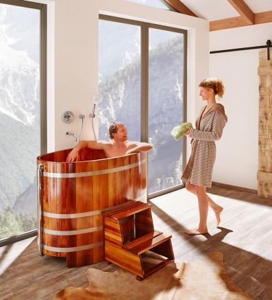 Купель для сауны и бани от Blumenberg 130 x 79, фото 5