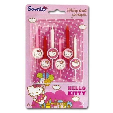 Свечи в торт Hello Kitty