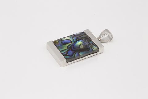 Серебряная подвеска с перламутром 2/20 КН-Р6653