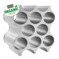 Подставка для бутылок SET-UP Organic, серая, фото 1