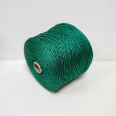 Cordonetto, Хлопок 100%, Зеленый, мерсеризованный, 220 м в 100 г