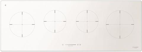 Индукционная варочная панель Fulgor-Milano CH 1004 ID TS WH